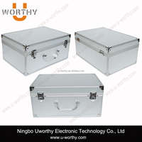 Customized Heavy Duty Professional DJI Phantom Helicopter Aluminum Carrying Protective Case, Aluminum Tool Case