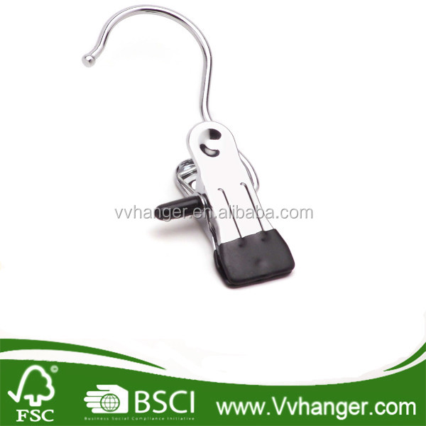 MHC017 Mini Small Metal Clip Hangers for whoesale Sock Hanger