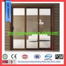 China supplier french aluminium glass sliding door interior exterior