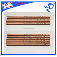Huake HB round wooden pencil The light pencil with LOGO