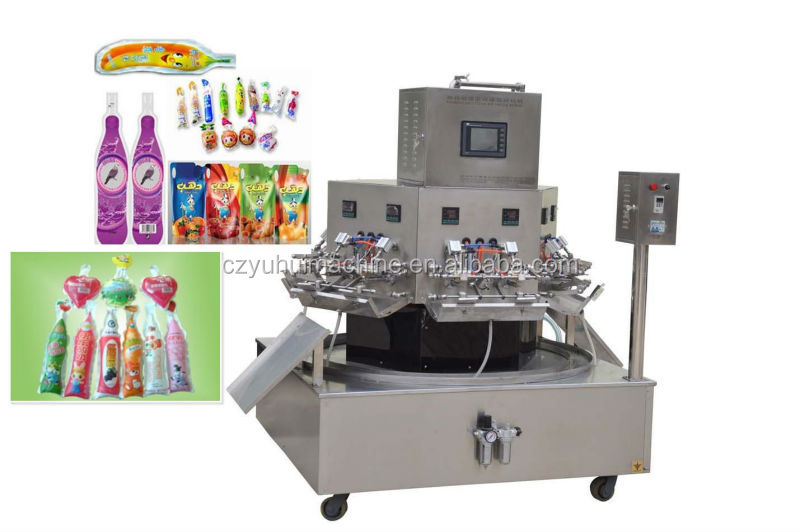 Automatic purified dring water,beverage filling machine-YHGZFJ-B-12