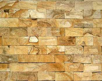 Wall Cladding Yellow Sandstone - Buy Wall Cladding Product ... Yellow Sandstone Cladding