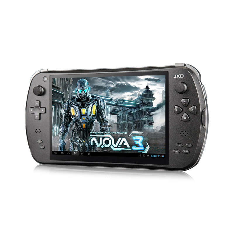 "7"" Quad Core Game Console Player tablet pc JXD S7800B S7800 gamepad Android 4.2 2G RAM 16GB 1280X800 IPS Online game Camera"