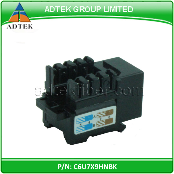 UL Certified Good Price Female UTP 8P8C RJ45 Cat 6 Wall Jack Shenzhen