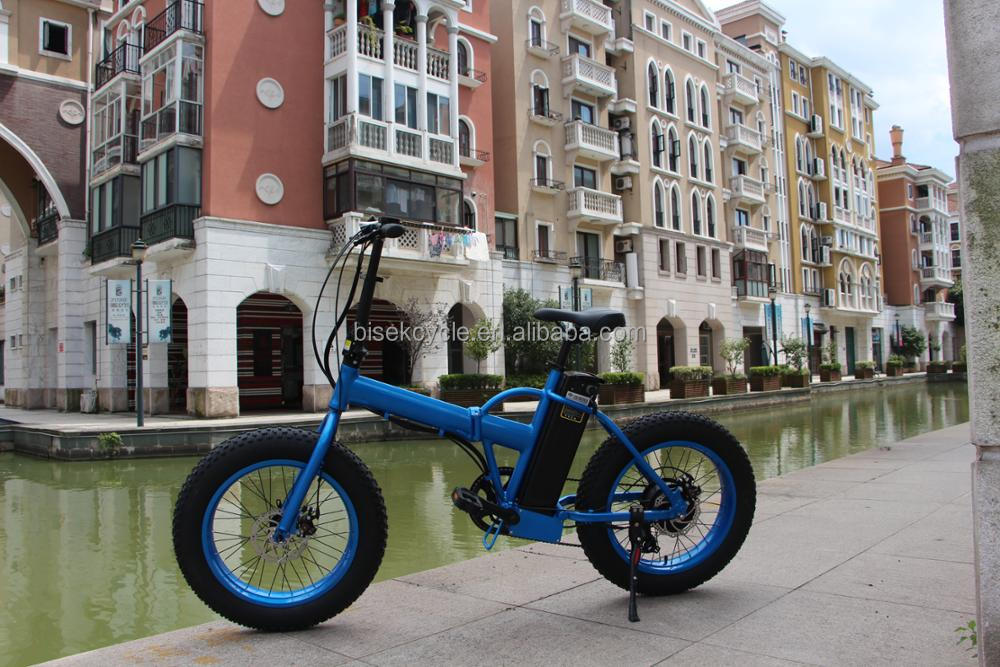 "Fat tire foldable electric bike/20"" mountain folding e bike/500w big power fatbike electric"
