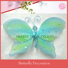 Nylon feather butterflies wholesale