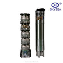 4 inch 25 hp Stainless Steel electric motor solar deep well submersible pump for irrigation