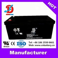 12v batteries, 12v260ah backup battery for solar energy system