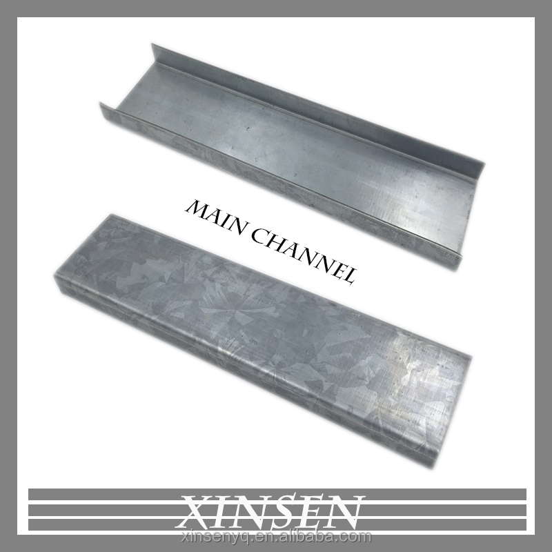 Galvanized steel matel building material light steel keel