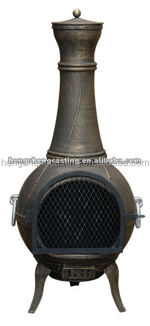 Wood burning Cast aluminum stove/furnace supplier