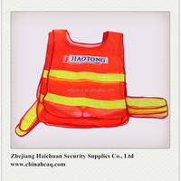 Mesh Fabric Reflective Traffic Safety Vest