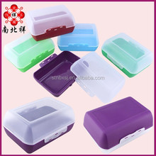 Clear Plastic Bread Box With Lock