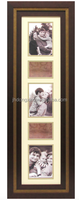Kirkland's 6x36 home decoration brown PS frame 5 openings multi collage photo frame and picture frame with double mats