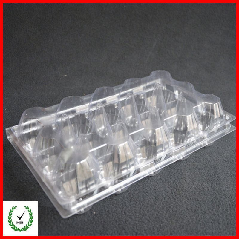 Wholesale clear empty palstic egg tray supplier