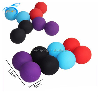 Peanut Massage Muscle Roller Lacrosse Ball