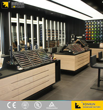 RCF1004 Hot sale modern wood cosmetic shop counter design