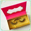 knitting false Eyelash Wholesale 3D Human Hair strip Eyelashes