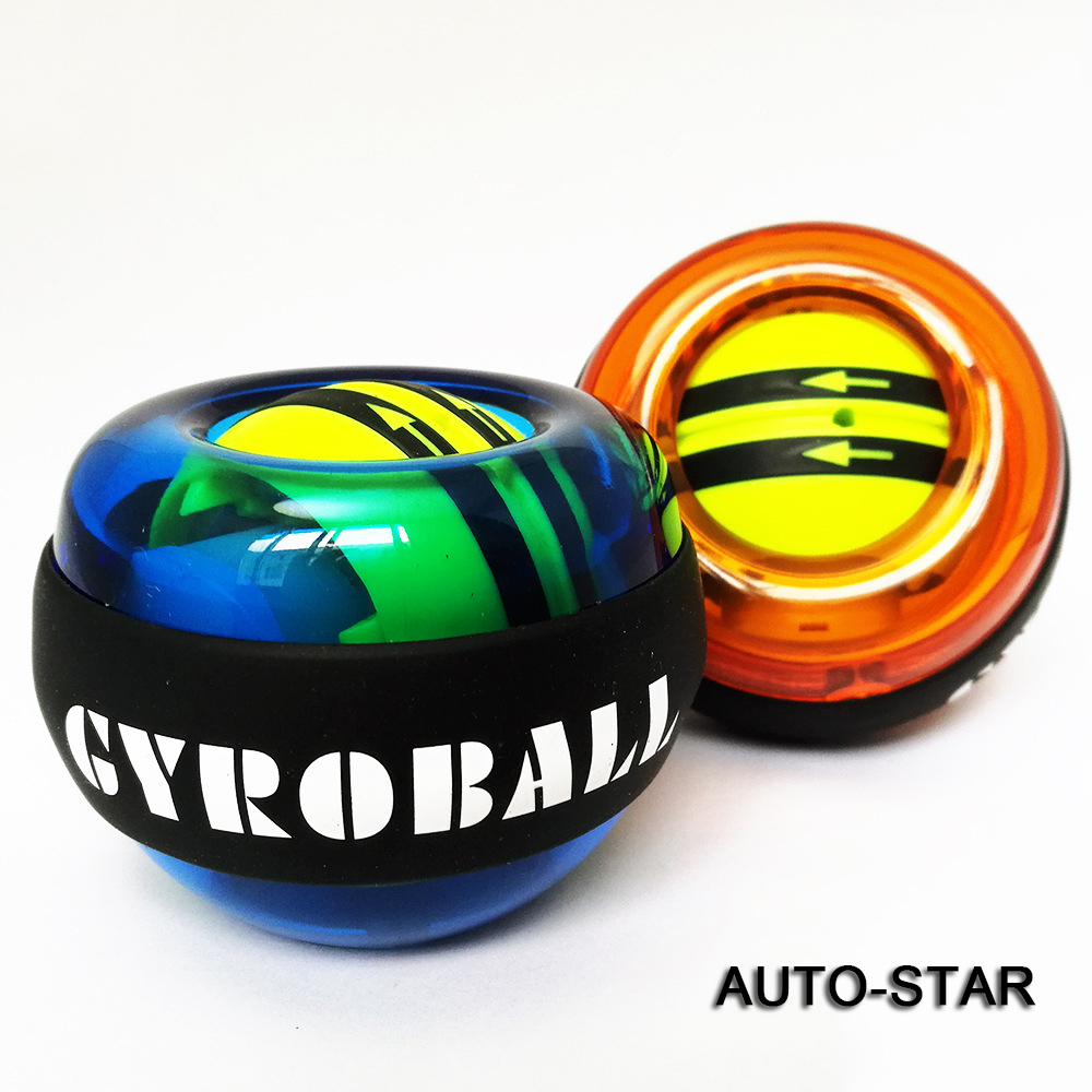 <strong>A014</strong> Wrist Strength Exerciser Force GRYO Ball power force auto start wrist ball