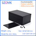 amplifier enclosure anodized extruded aluminum enclosure