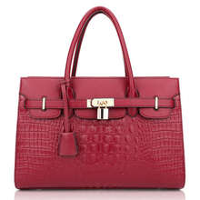 Womens Structured Briefcase Top Handle Faux Leather Padlock Satchel Handbag, Laptop, Tablet, Shoulder Bag, Designer Tote