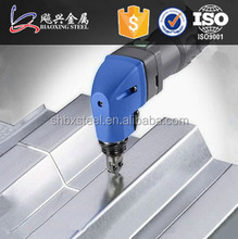 Shanghai Manufacture Construction Material Galvanized High Rib Roof Sheet