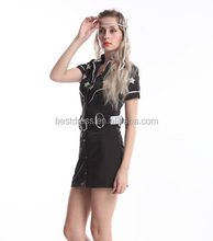 Sexy Ladies Cowgirl Costume Fancy Dress Cop Outfits HALLOWEEN Party Uniform 275