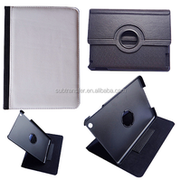 High Quality 360 degree Rotating pu leather case for Ipad 2/3/4