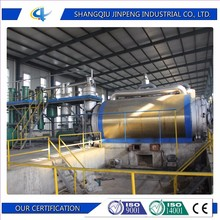Pyrolysis plant waste plastic to fuel oil carbon black