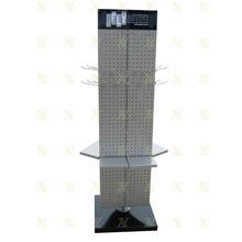 wholesale products display metal Triangle pegboard spinner rack