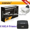 10/100M One USB2.0 Port USB Network Print Server