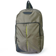 high quality 17.5 inch laptop backpack army green laptop school bag