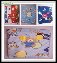Unisex infant cotton quilt teddy bear baby blanket