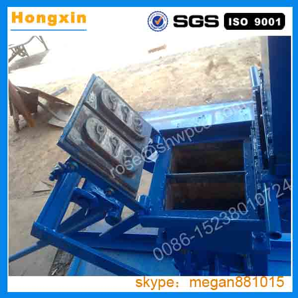 China manual red small clay brick making machine for south africa for sale