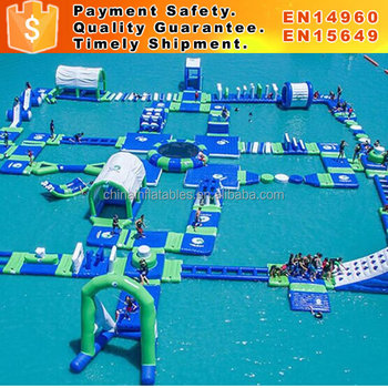 Giant Inflatable water games for adult water park games