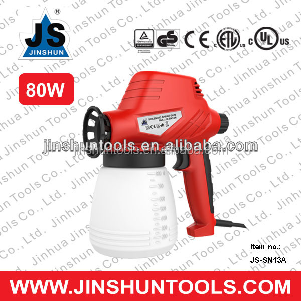 DIY Paint Tools Electric Paint Spray Gun CE Approval (80W JS-SN13A)