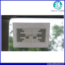 RFID Car Windshield sticker for Parking Access Control