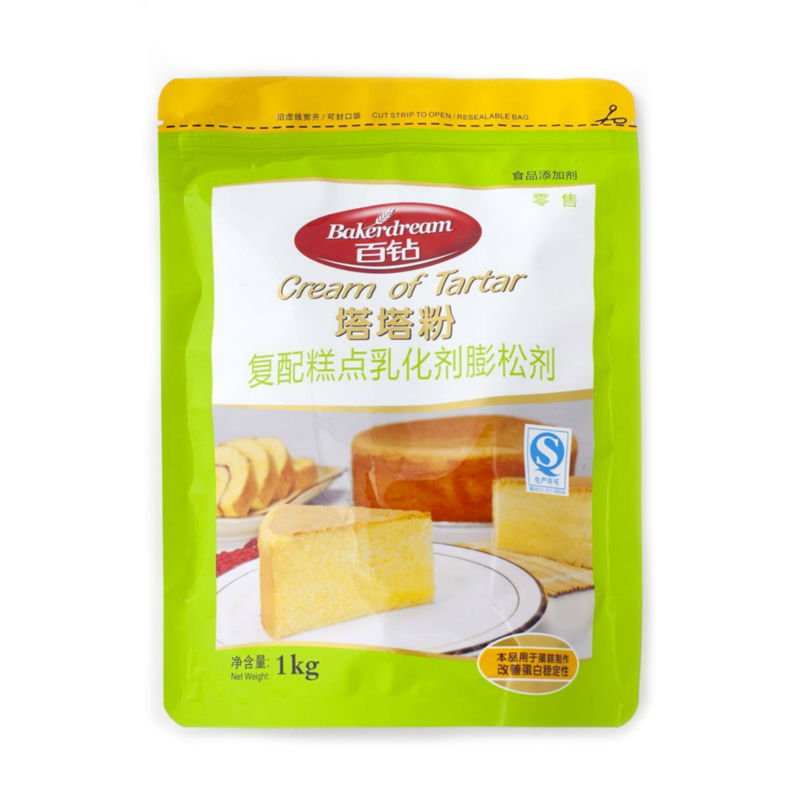 Bakerdream Cream of Tartar for for baking all kinds of cakes