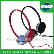 stereo sound overhead heaphones cheap /headphones manufacturer, wholesale/oem headphone gifts