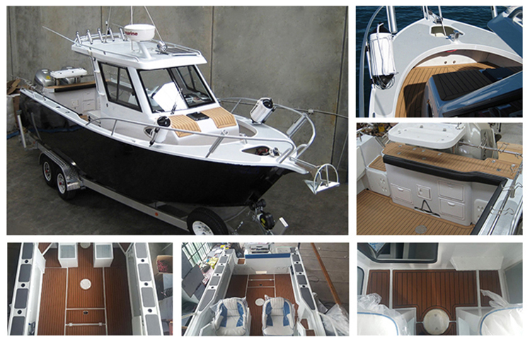 Australia design heavy duty aluminum boat sardine fishing boat for sale