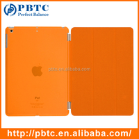 Best Pirce Wholesale Cheap Orange Smart Case For iPad Air