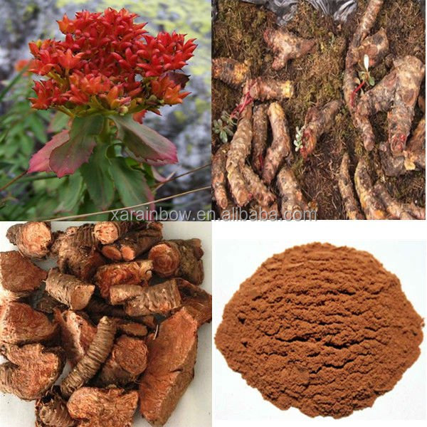 USA Warehouse Rhodiola Rosea Extract 3% Rosavins and 1%Salidroside HPLC