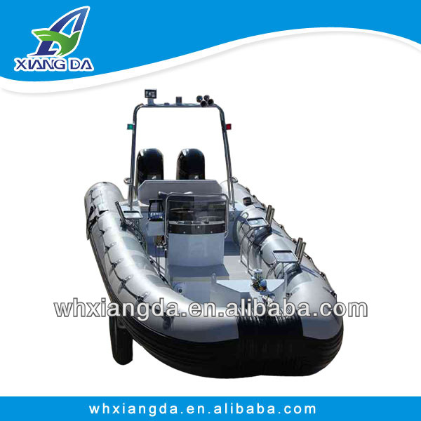 luxurious aluminum rigid inflatable boats