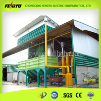 Rice Husk Electricity Generating System for Rice Mill Plant