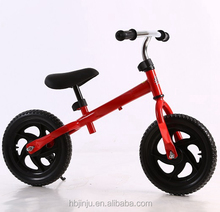 12 Sport Balance Bike No Pedal Walking Bicycle with Simple Frame.