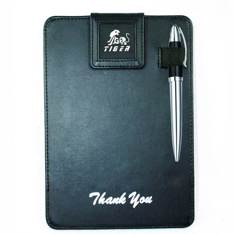 Hotel supplies leather signature Pad with pen