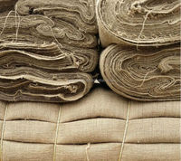 160CM Wide Natural Burlap Jute Fabric 100yards/roll Different Density decor eco-friendly burlap fabric