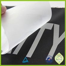 Personalized screen printing reflective soccer number heat transfer patch
