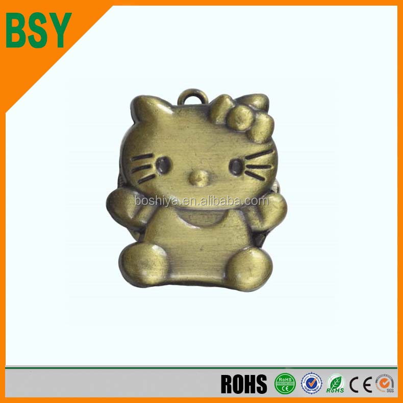 Wholesale Factory Direct Sale Anime Alloy Kitty Cat Pocket Watch