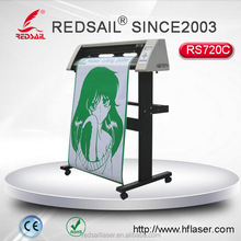 REDSAIL RS720C vinyl cutting plotter reasonable price and less waste