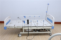 Manual and electric hospital bed paralysed patients nursing bed